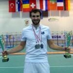 Thomas vice champion d'europe
